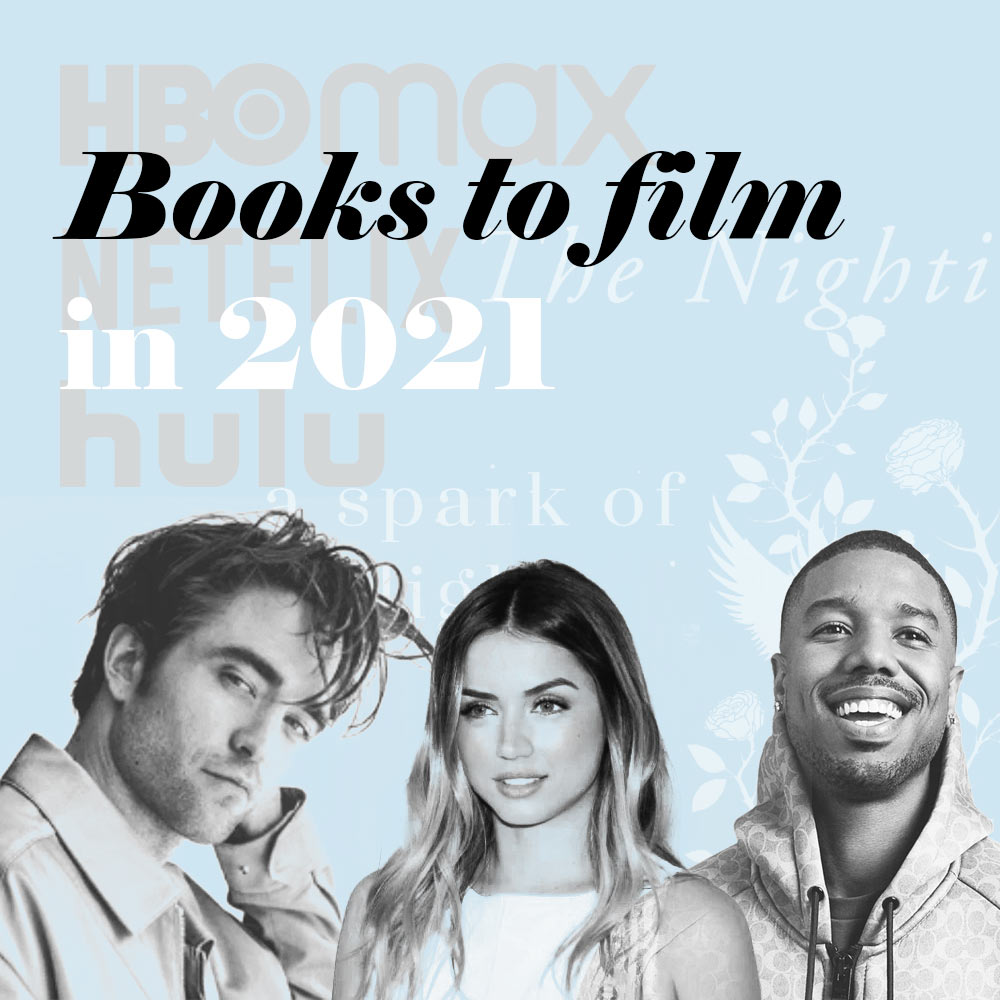 Every 2021 Book to Movie & TV Series Adaptation
