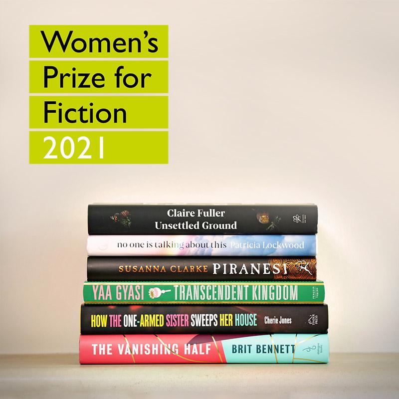 Women's Prize 2021 Shortlist Announced