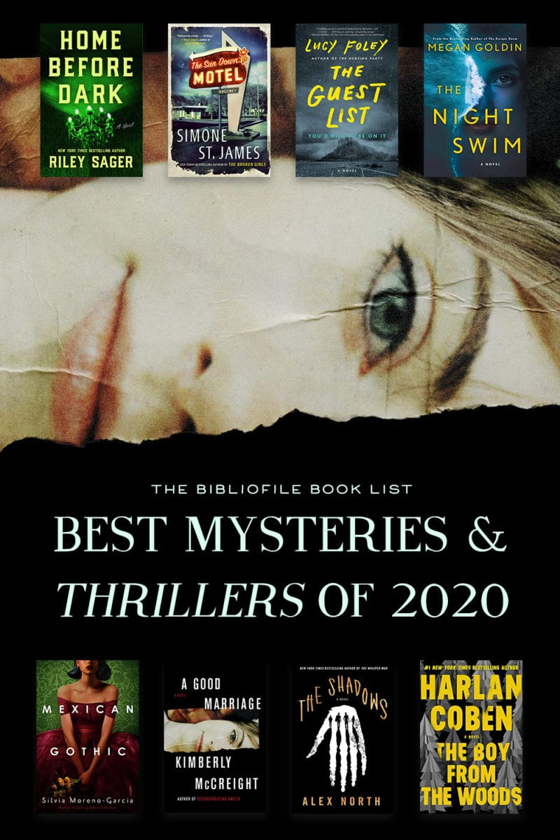 2020 best mystery and thriller books novels