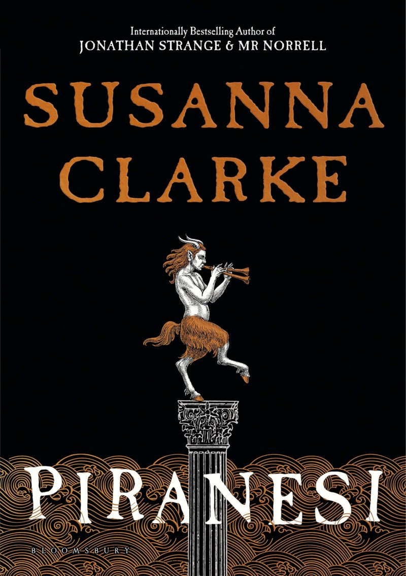 piranesi by susanna clarke book cover