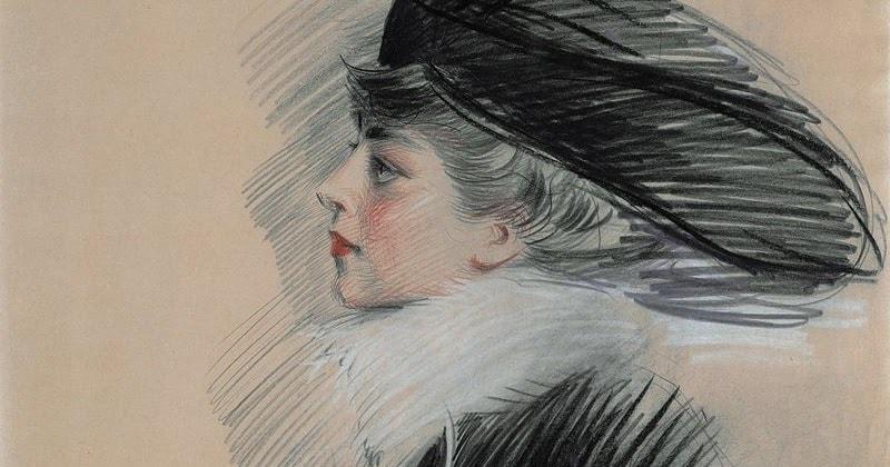 An Artist's Sketch of Belle de Costa Greene