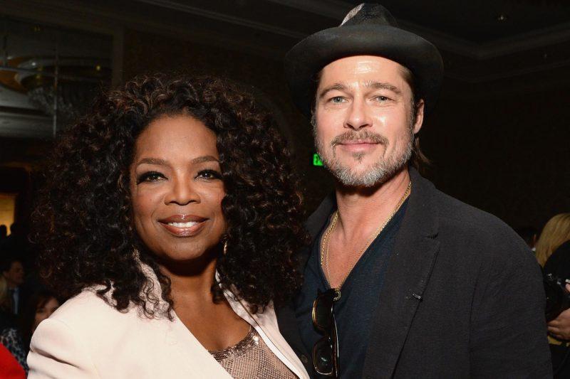 Producers Oprah and Brad Pitt