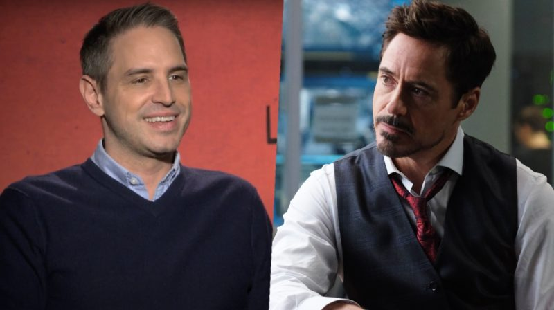 Robert Downey Jr. and Greg Berlanti
