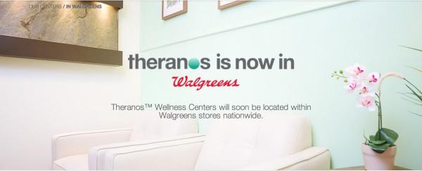 Theranos Walgreens Launch
