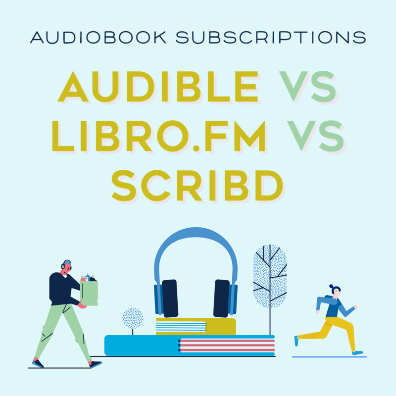 audible libro.fm scribd audiobook audio book comparison compare subscription service listen reading books