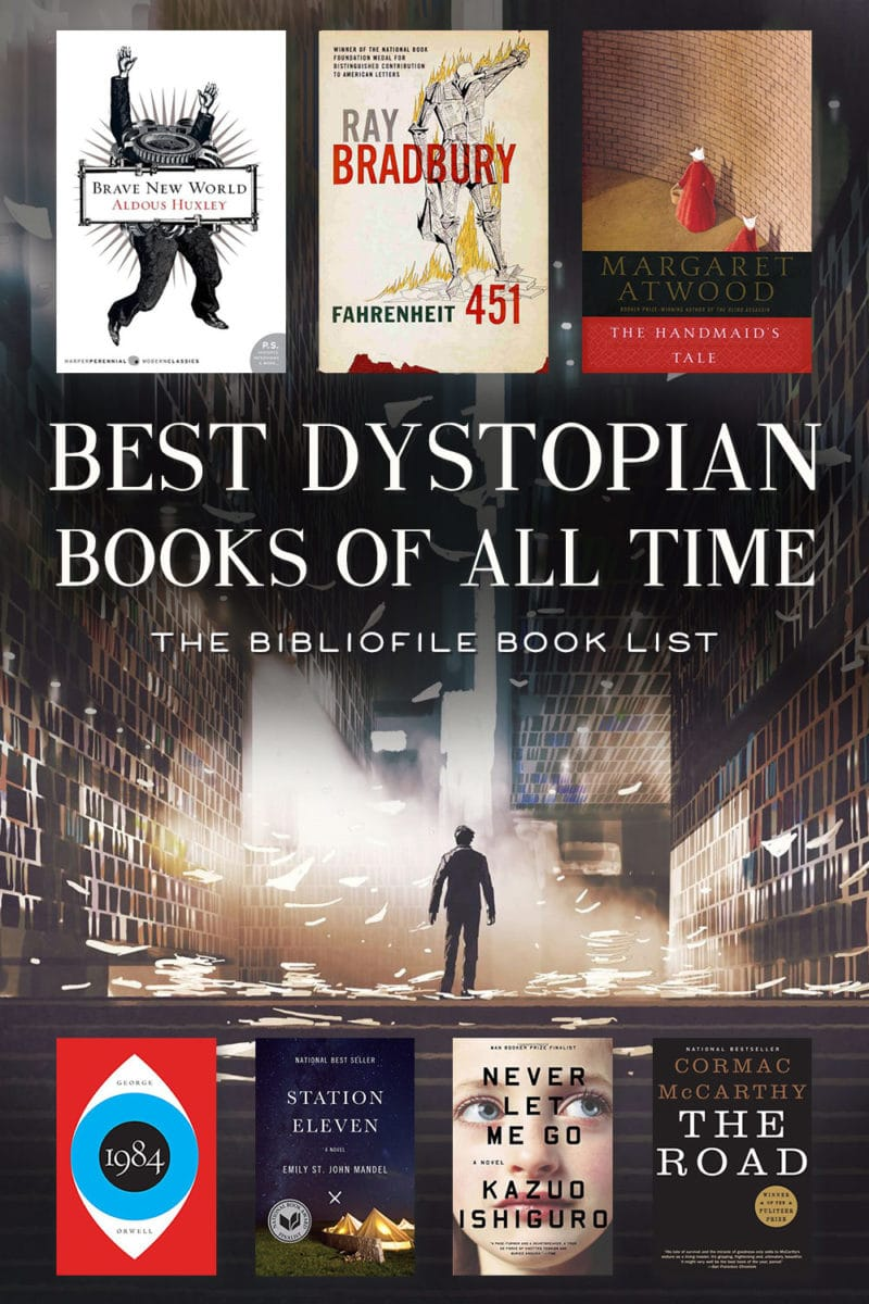 best dystopian novels books of all time top dystopias ever written book list