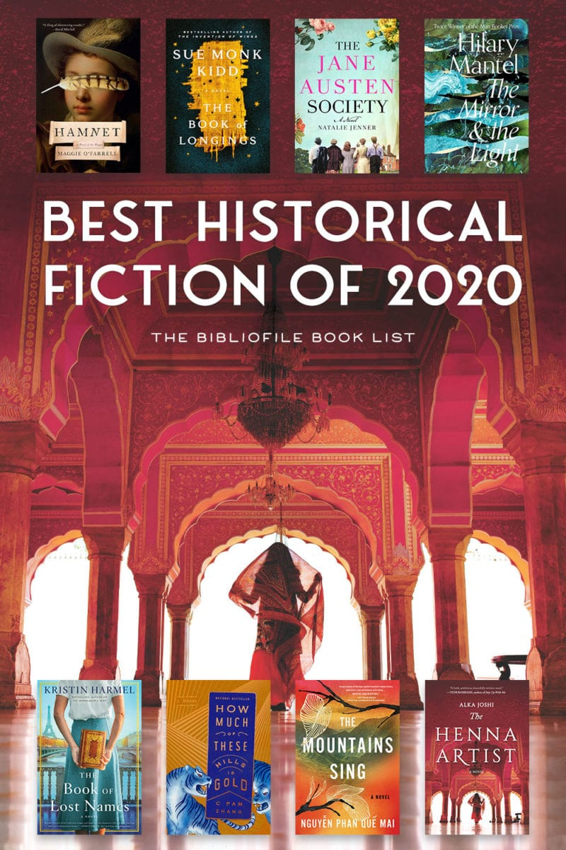 2020 best historical fiction books and novels new releases