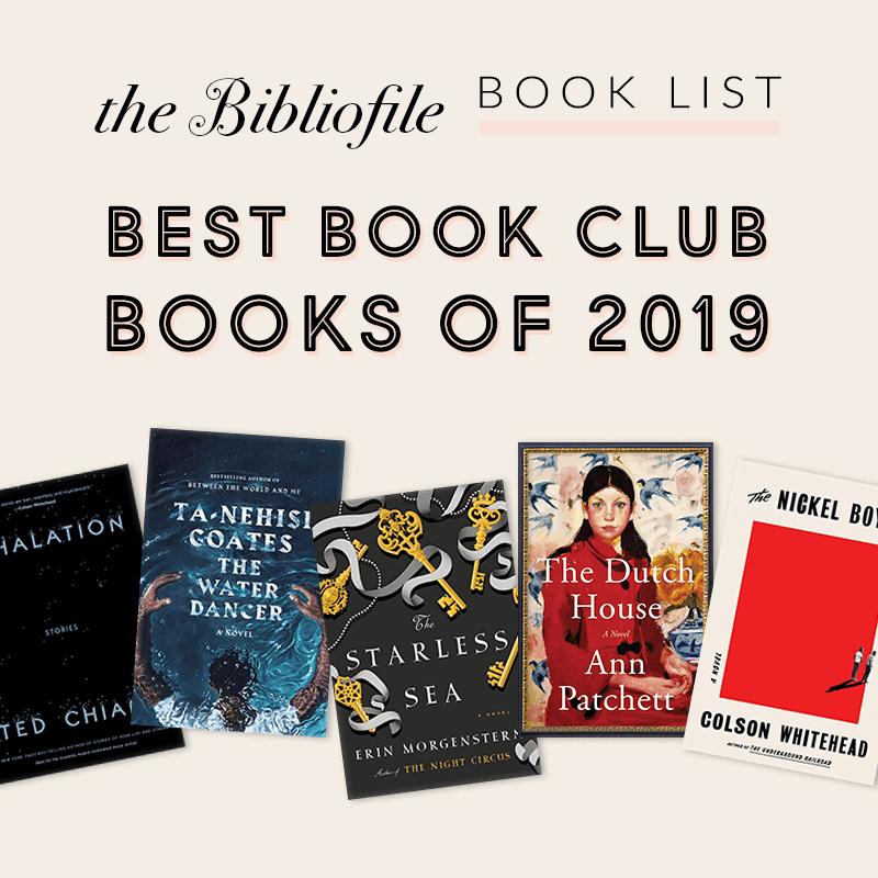 Best Book Club Books of 2019