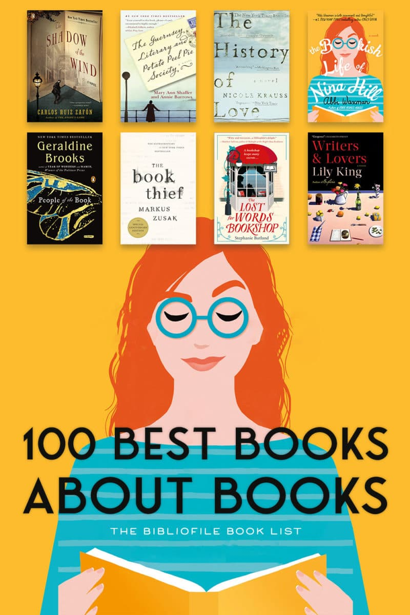 best books about books for book lovers of all time