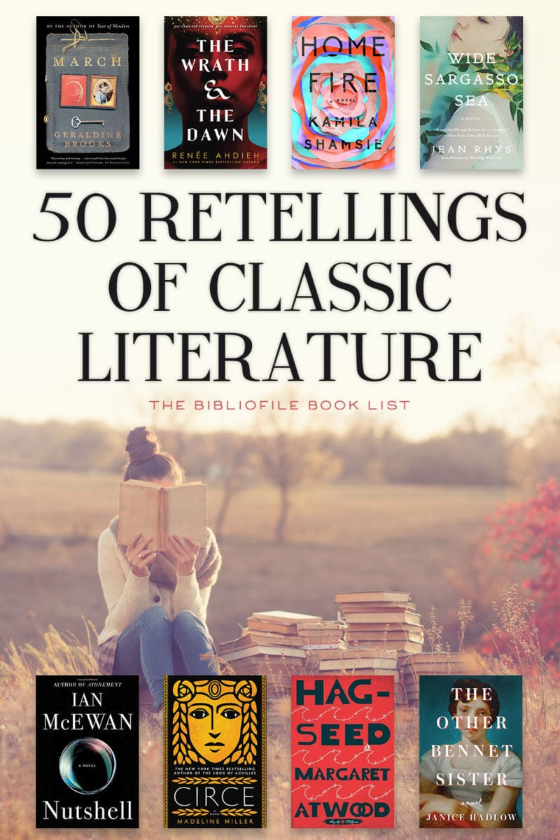 retellings classic books novels literature based on inspired by classic