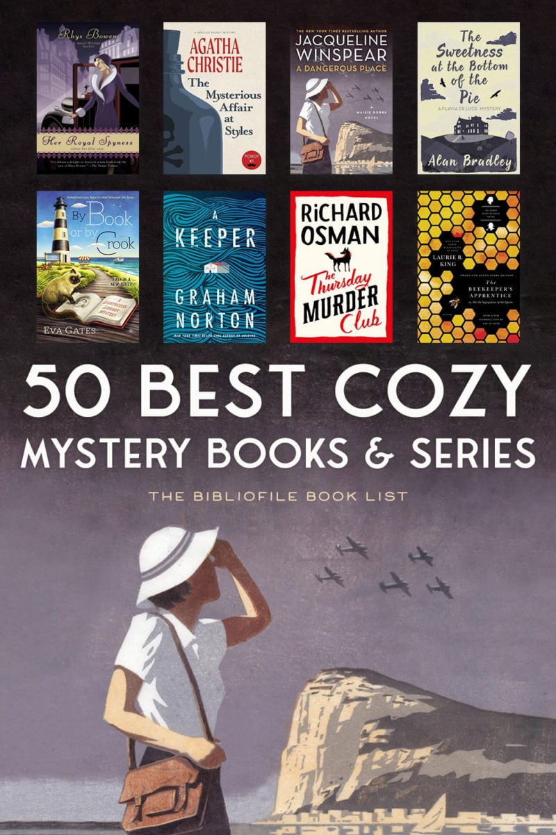 cozy mystery books and series cozies