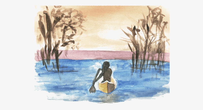 where the crawdads sing watercolor
