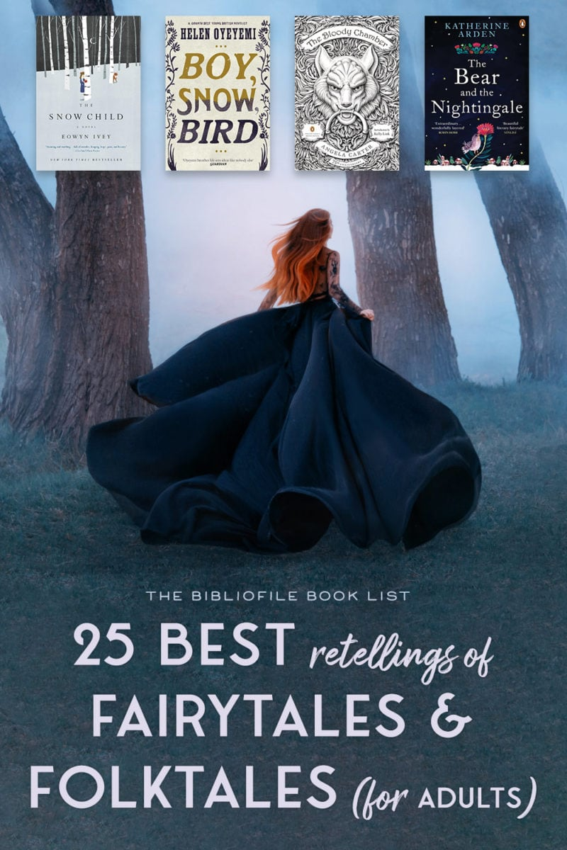 adult fairy tale fairytale retellings books novels folktales