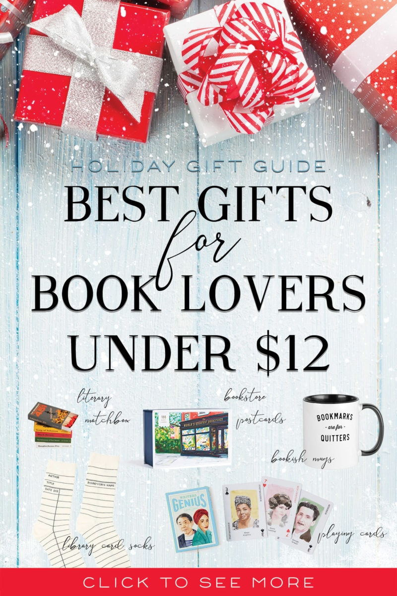 gifts for book lovers under 12 best literary gifts stocking stuffers holiday gift ideas gift guide