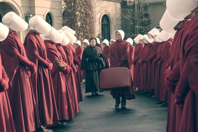 From the Hulu adaptation of The Handmaid's Tale