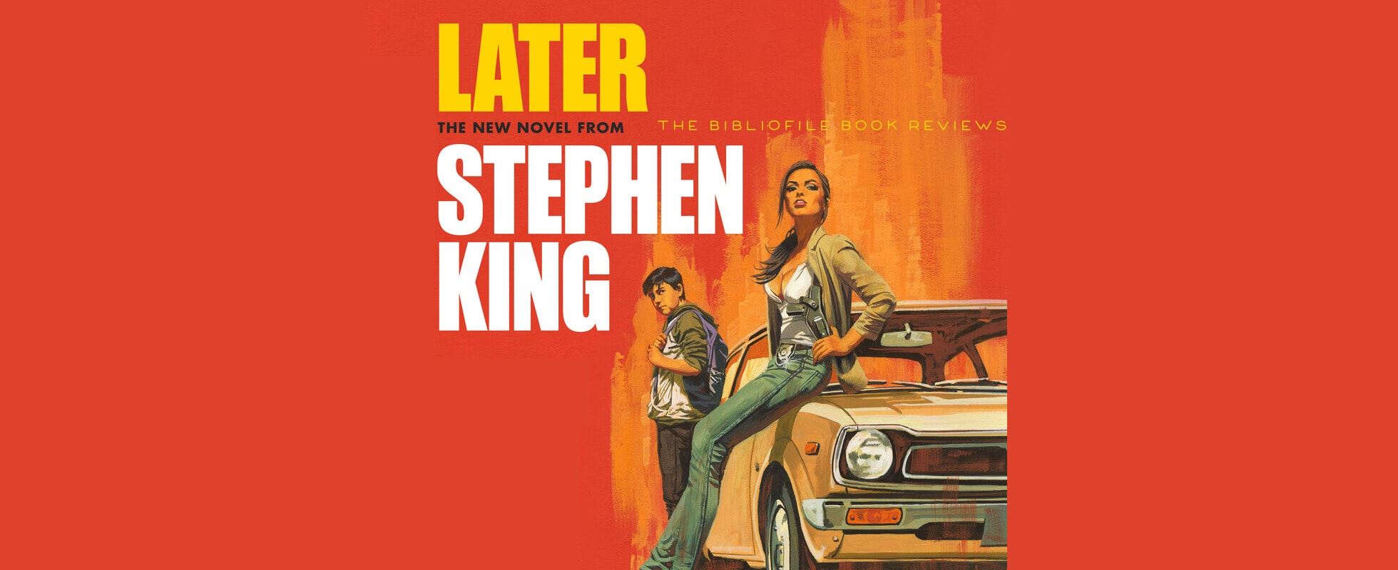 Later by Stephen King Book Summary Review Recap Synopsis