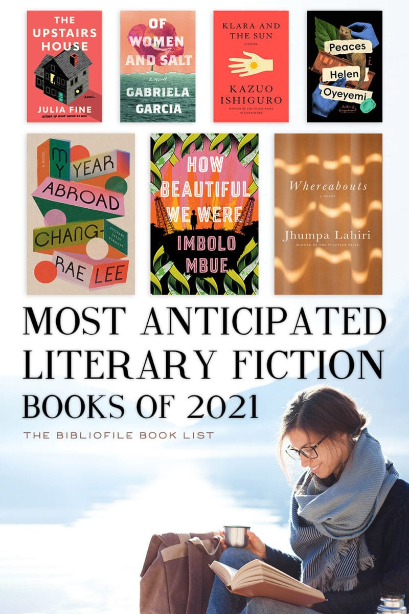 2021 best literary fiction books novels anticipated new releases