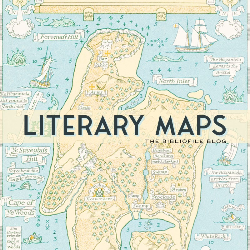 literary maps fictional maps from books