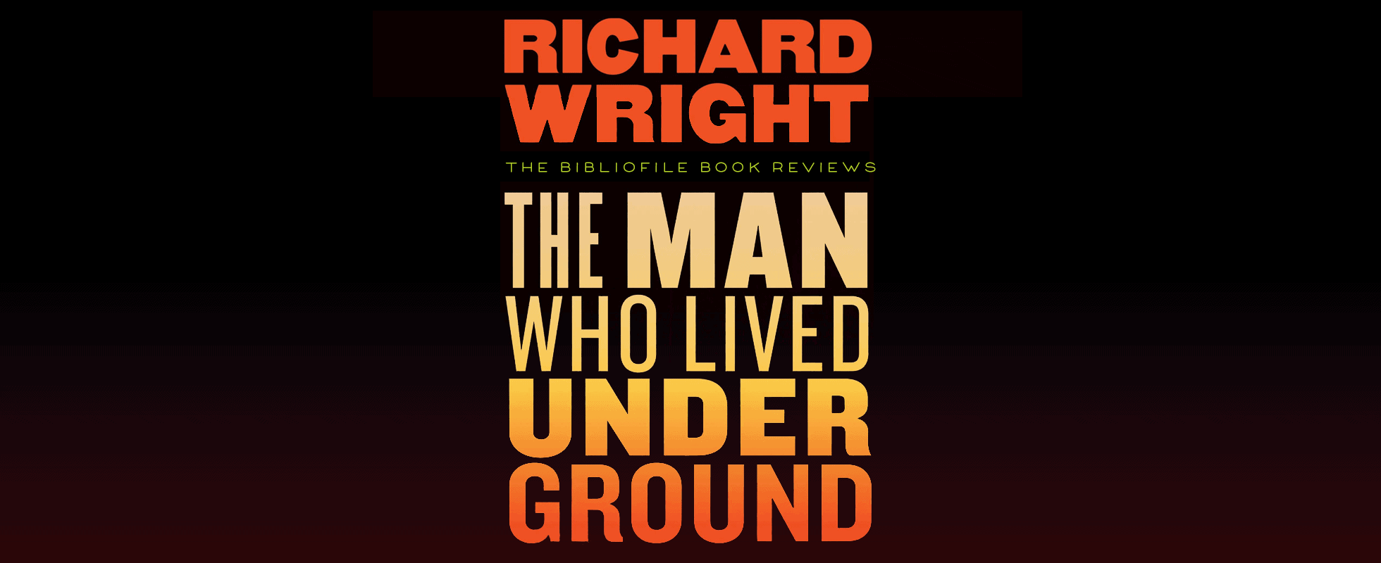 the man who lived underground by richard wright book summary synopsis recap plot review