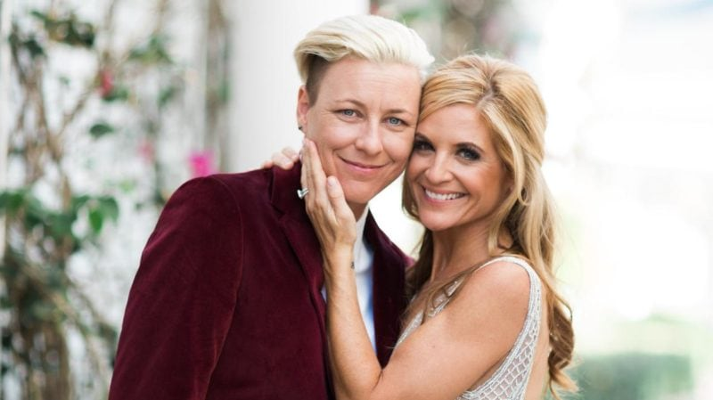 Author Glennon Doyle (Right) and her wife Abby