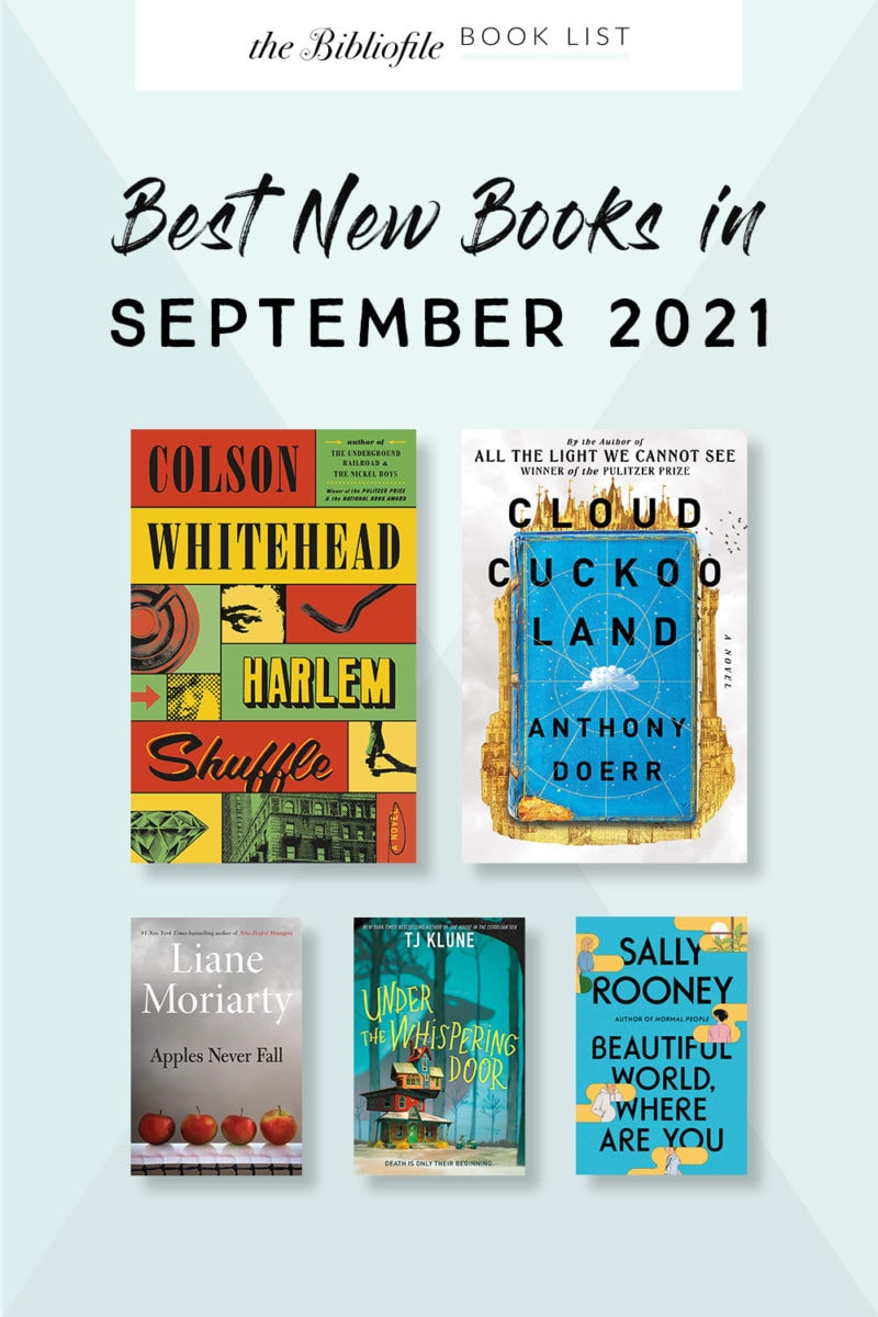 September 2021 books new release most anticipated upcoming titles to read