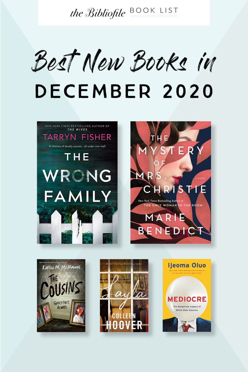 December 2020 books new release most anticipated upcoming titles to read