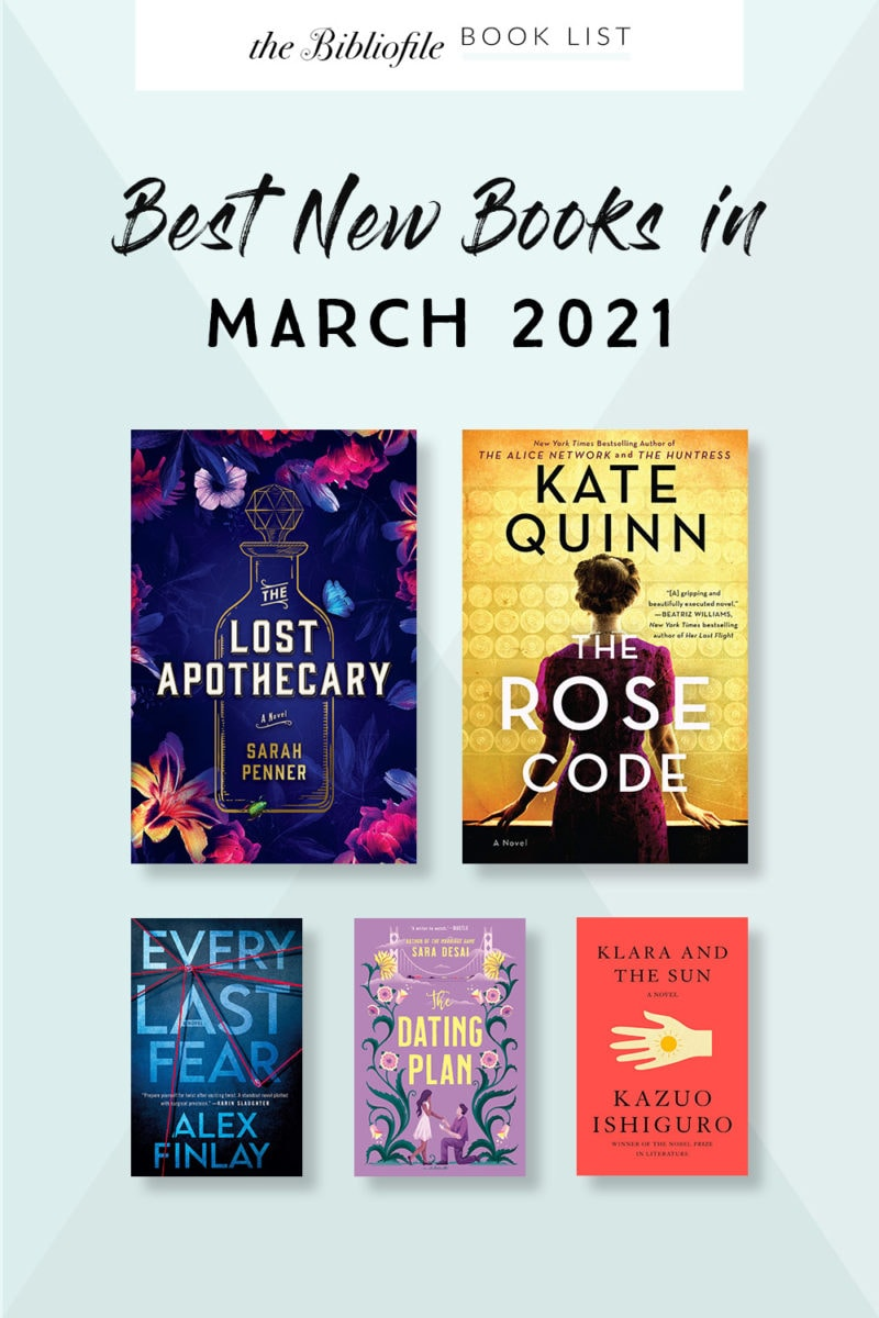 March 2021 books new release most anticipated upcoming titles to read