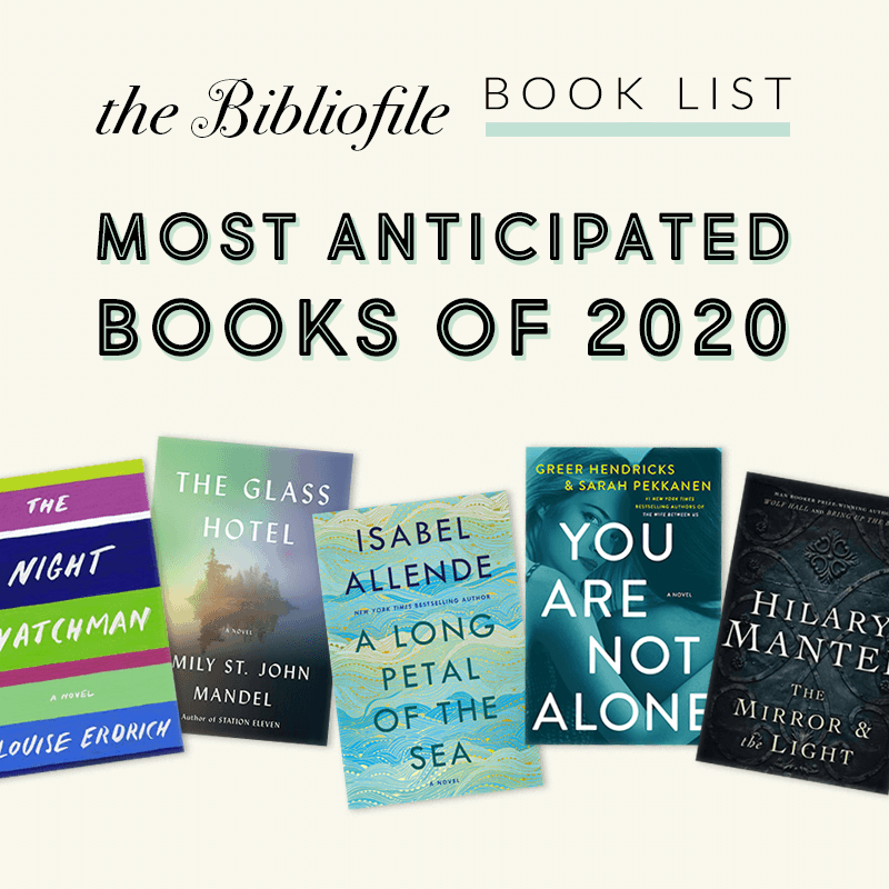 most anticipated new release books 2020