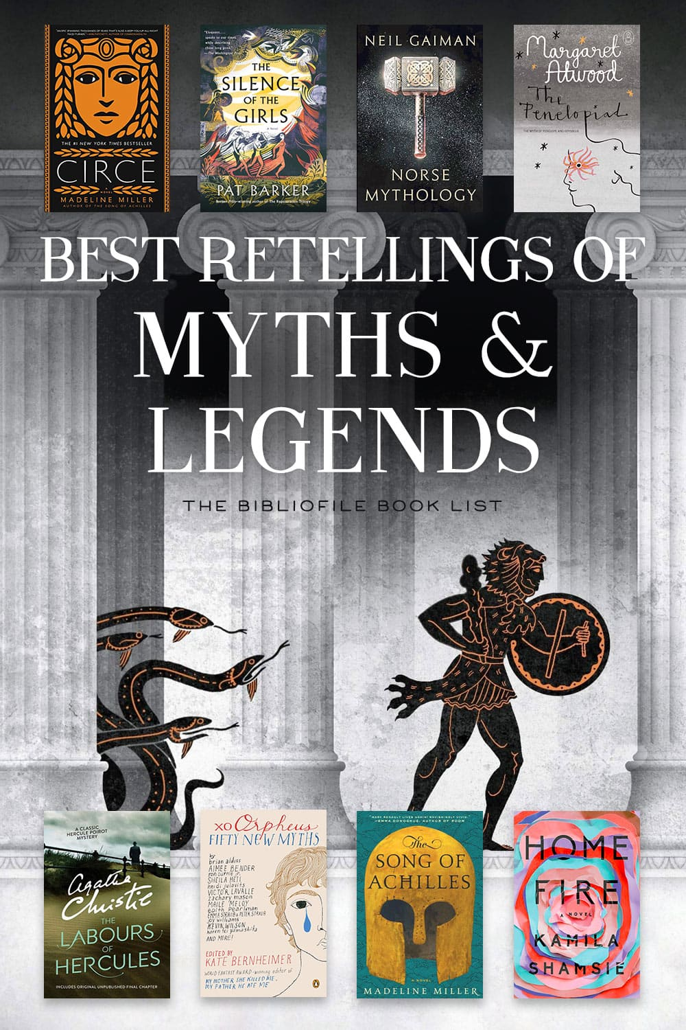 mythology myths legends retellings books novels