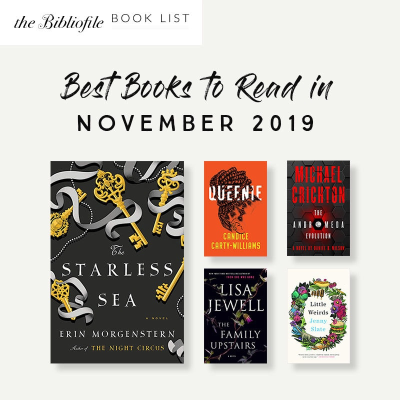 books November 2019 fall best books new release