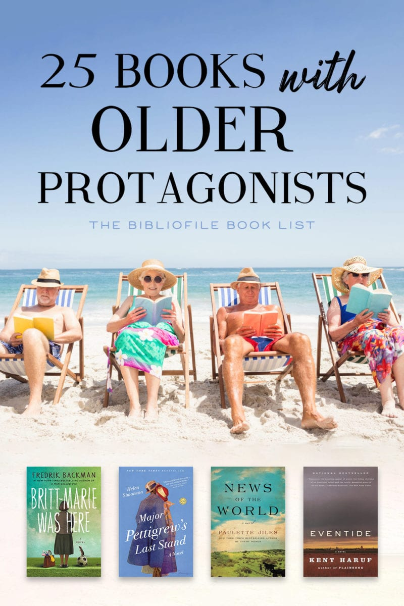 books with older main characters protagonists novels elderly