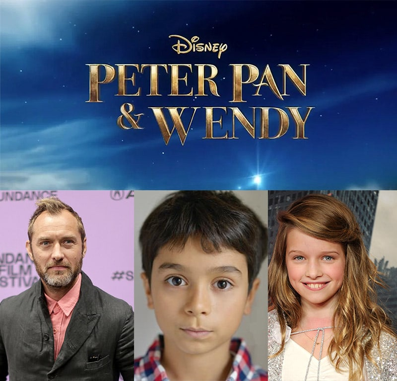 peter pan and wendy disney plus books to movies 2022 jude law