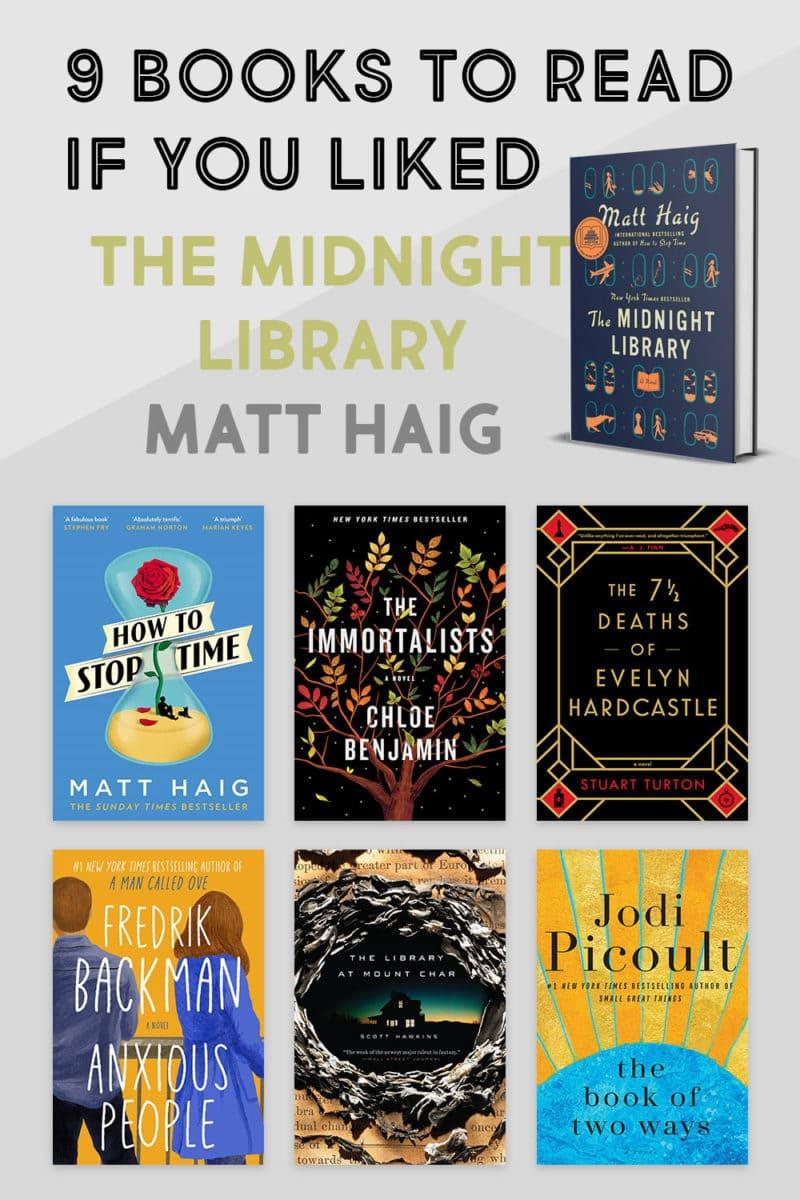 read-alikes books like the midnight library what to read next if you liked the midnight library by matt haig