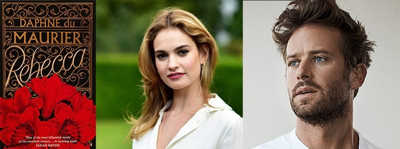 rebecca movie arnie hammer lily james