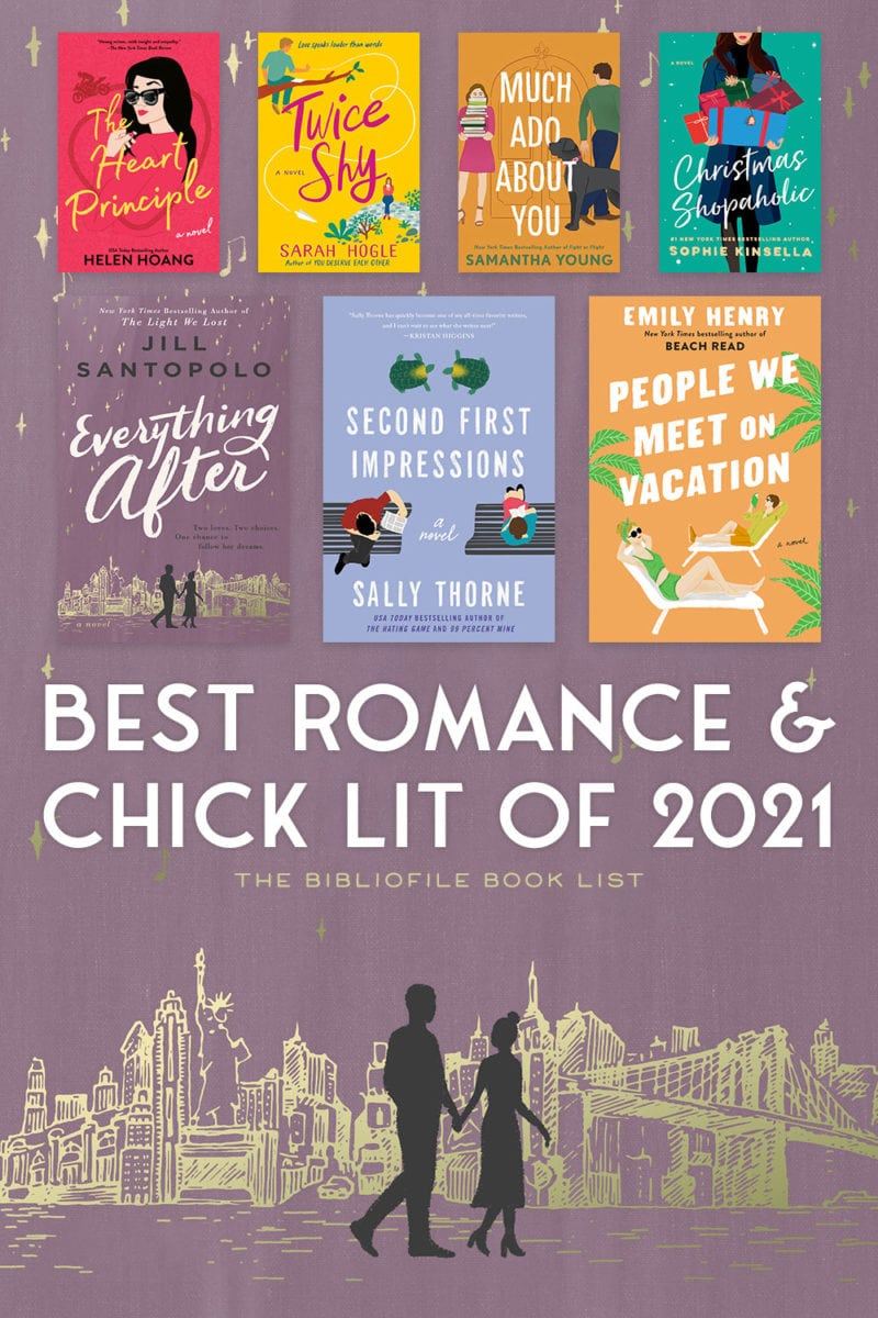 2021 best romance chick lit and rom com books novels
