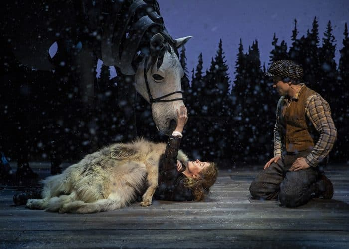 Musical adaptation of The Snow Child at Arena Stage in D.C.