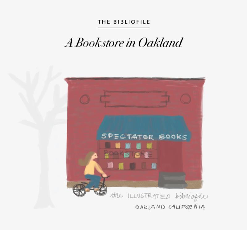 spectator books oakland ca bookstore illustration