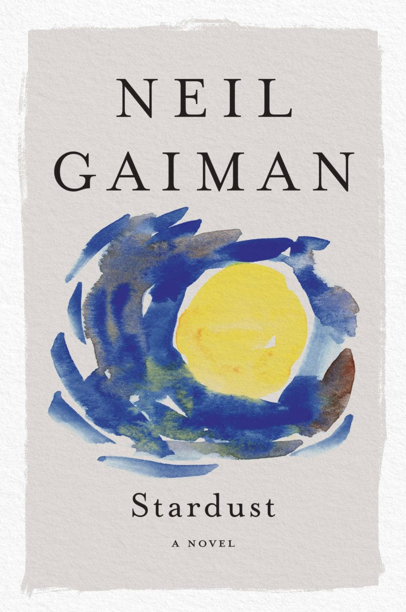 stardust by neil gaiman, cover by henry sene yee
