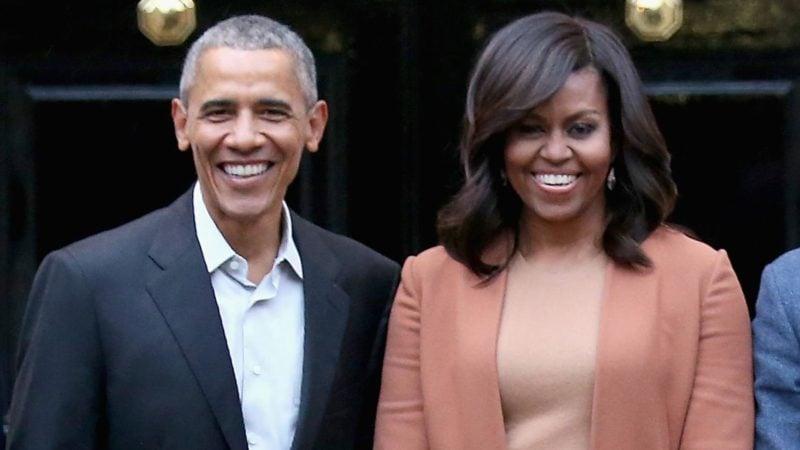 The Obamas!