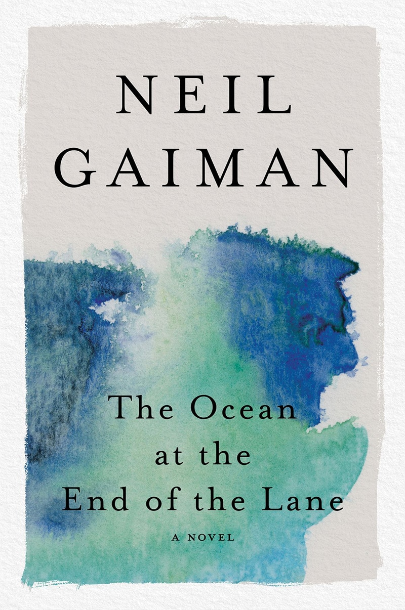 the ocean at the end of the lane by neil gaiman, cover by henry sene yee