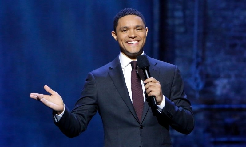 Comedian and Daily Show Host Trevor Noah