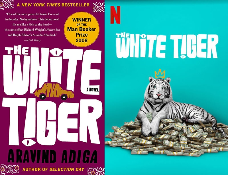 the white tiger netflix book adaptation
