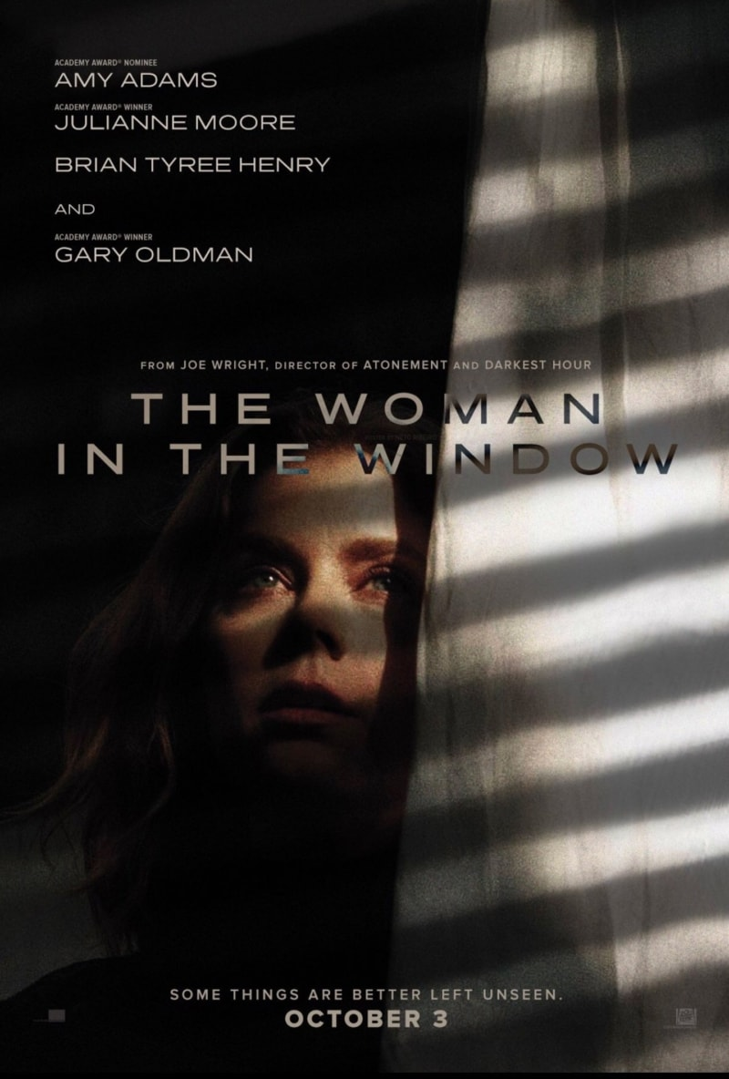 Movie Poster for The Woman in the Window (2020) starring Amy Adams