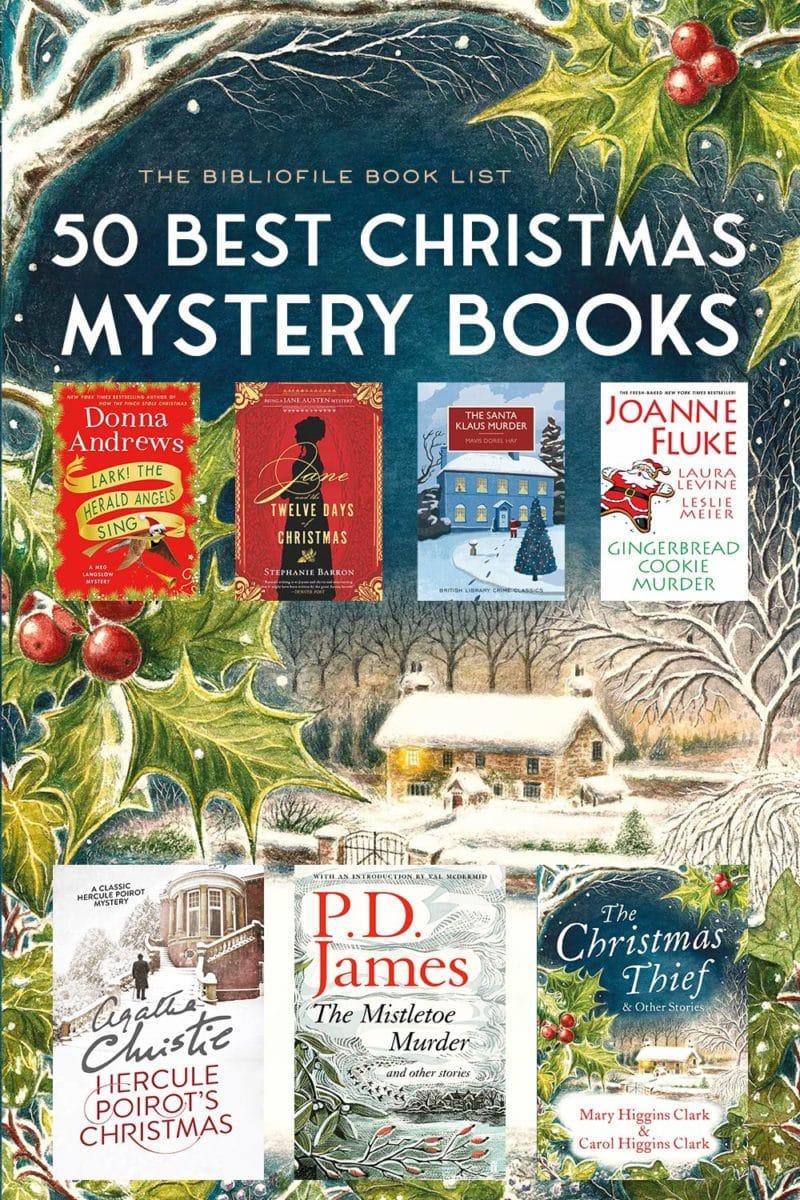 christmas mysteries books holiday xmas novels stories crime